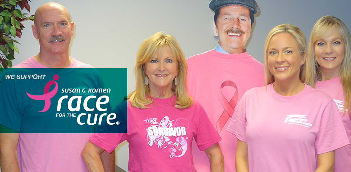 We support Race for the Cure